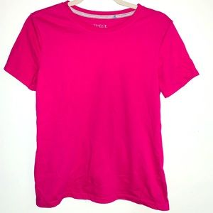 Time and Tru pink tee small